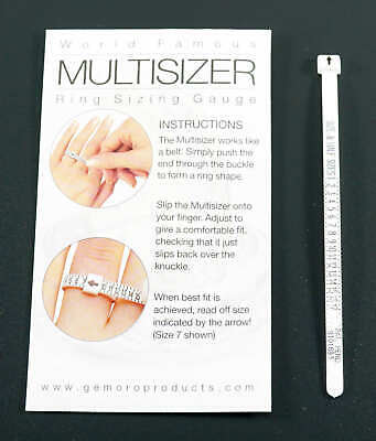 Ring Gauge MultiSizer Measure Your Finger Size To Buy Rings On Line