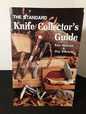 The Standard KNIFE COLLECTORS GUIDE  Stewart / Ritchie  KNIFE PRICE BOOK 1st Ed.