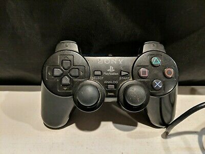 Official OEM Sony Playstation 2 PS2 Dual Shock Controller Black