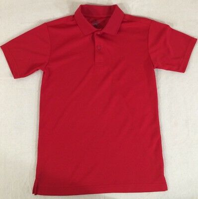 634e37d05 Chaps Approved School Wear Boys Short Sleeve Polo Shirt Size L (14-16)