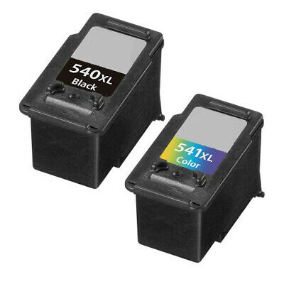 Canon Pg-540Xl Black Cl-541Xl Colour Refurbished Ink For Pixma Mg3250 Mg3650