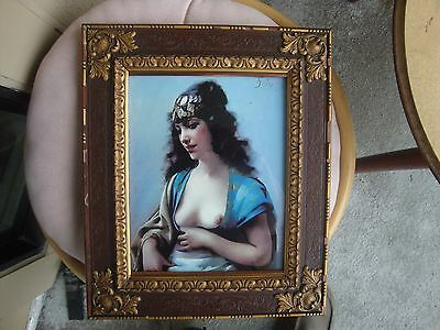 Antique KPM Germany  Porcelain Plaque