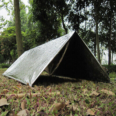 Camping Hiking Tent Survival Emergency Shelter Tent Sleeping First Aid Tent