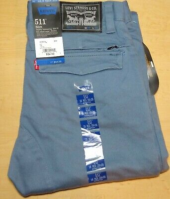 LEVIS 511 Slim Fit Boys Jeans NWT Black Label 16 REG 28x28 Stretch NEW