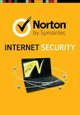 Norton Internet Security  2019  -  1 Pc / 1 Year - Online Key Delivery