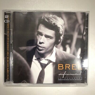 jacques brel infiniment  double cd neuf sous blister