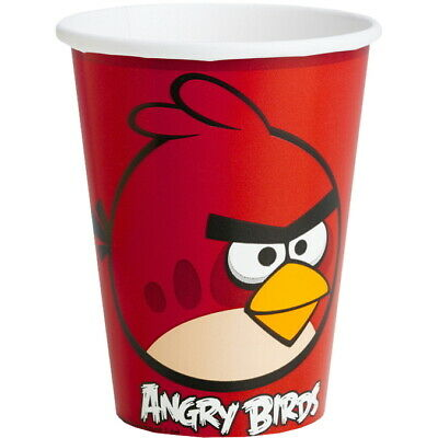 Angry Birds Partybecher Red Bird 0,25l, 8 St.