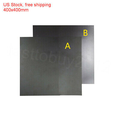 US Stock fast free shipping Hot Bed Sticker Square Mat 400x400mm for 3D printer
