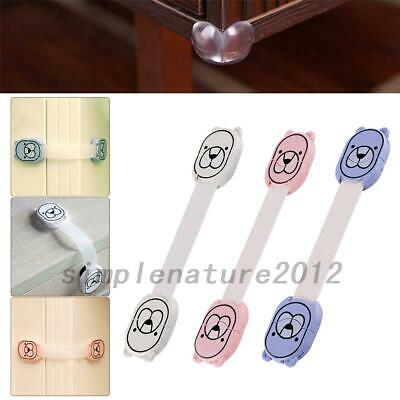 10X Cupboard Cabinets Strap Locks Child/Baby Pet Proof Safety Latches AU Local