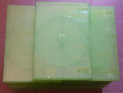 25 Official Xbox 360 Green Empty Game Cases Good Used Condition