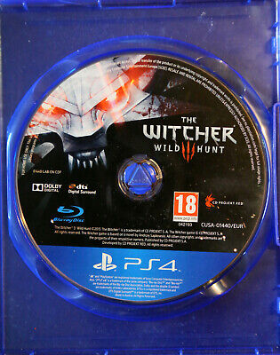 Witcher 3 PS4 (original box missing)