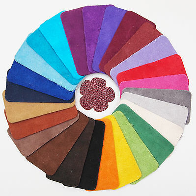 Suede collection Sample set Of 26 Colours 1.2 - 1.4mm thick