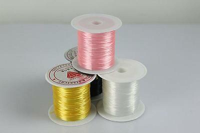 Strong Stretchy Elastic Strings Assorted Crystal Beadings Cords Line for JewODCA