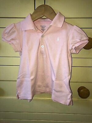 baby girl RALPH LAUREN 18-24 months Polo T-Shirt