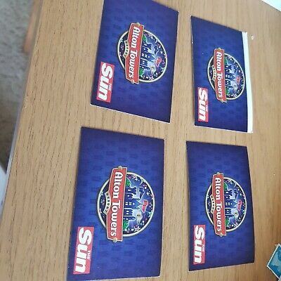 alton towers tickets key weekend tickets Sunday 15/09/2019