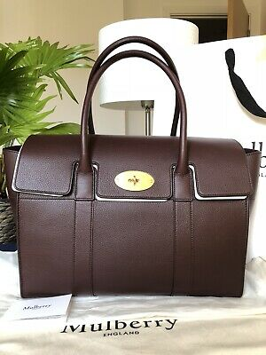9d4d542c23 MULBERRY Mulberry Bayswater OXBLOOD Handbag Tote Large Authentic BNWT RRP  £1,250