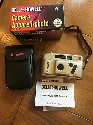 Bell & Howell F3-5 Vintage 35mm Film Point & Shoot Camera NEW FREE SHIP