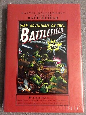 Marvel Masterworks - ATLAS ERA BATTLEFIELD VOL 1 HC - NEW & SEALED