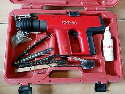 Exp88 Nail Gun In Case With Accessories