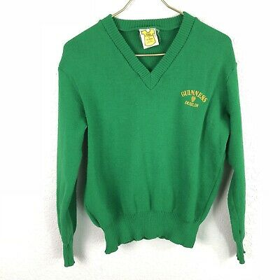 Tex Print by Paul Martin Sweater Guinness Dublin Made in England