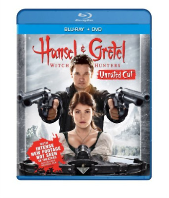 ACTION/ADVENTURE-HANSEL & GRETEL-WITCH HUNTERS (BLU RAY/DVD COMBO W Blu-Ray NEUF