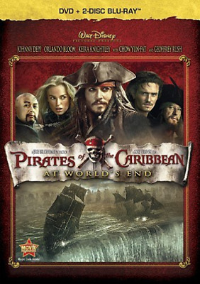 Depp,Johnny-Pirates Of The Caribbean:at World`s E Dvd Neuf