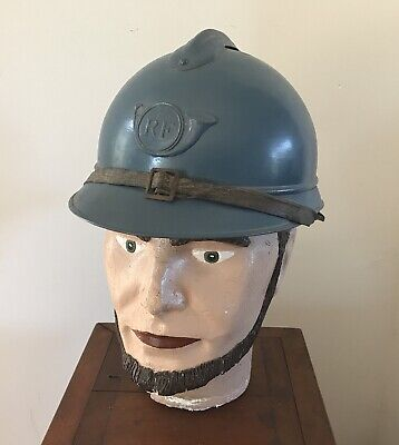 casque Adrian modele 1915 CHASSEUR - complet