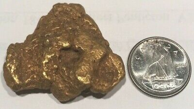 Superb Massive 40.3 Gram Natural Gold Nugget a Real Beauty, from estate.