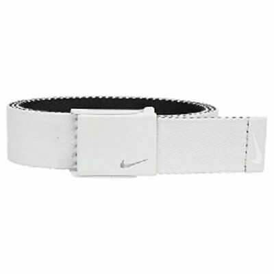 57f40d91eb NIKE HAZARD STRIPE Black & Red Web Belt - $15.00 | PicClick