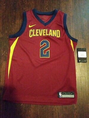 Nwt Nike Cleveland Cavaliers Kyrie Irving Jersey Youth M NBA Official New $70