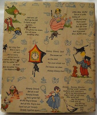 Vintage Castile Soap Box with Nursery rhymes, Illustrated Soap, Inc.