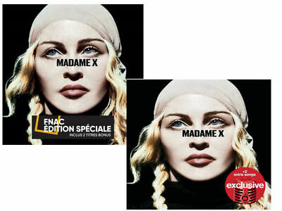 MADONNA MADAME X Deluxe Edition Exclusive Cd Album Set USA Target / Fnac France