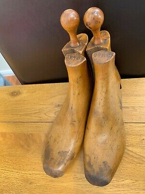 Vintage Wooden Nomad Cobblers Boot/Shoe Trees/Stretchers/Shapers/Lasts size 14?