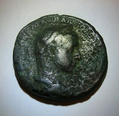 SEVERUS ALEXANDER 222 - 235 AD,  24 mm, 8.8 g ,Ancient Roman Coin, BRONZE -SC-