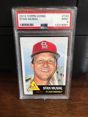 2019 Topps Living Stan Musial Baseball Card #154 PSA 9 Mint