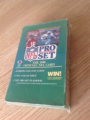 *sealed* UNOPENED Box Pro Set NFL American Football TRADING CARDS