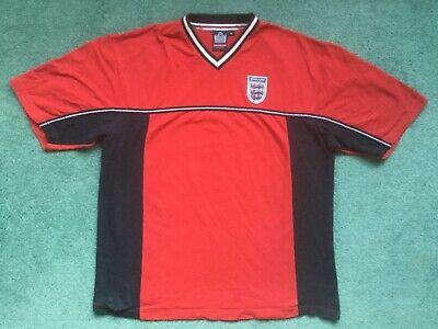Rare Retro England Admiral Football Supporters Shirt 1980 - 1983 Large