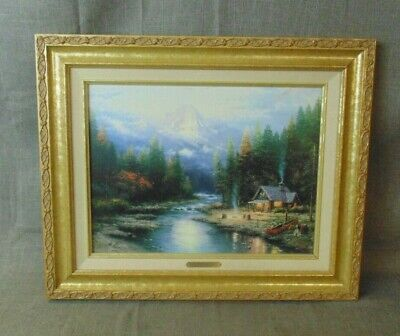 End Pf A Perfect Day Ii Thomas Kinkade Picture Coa (247683-4 Mtn)