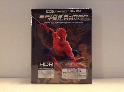 The Spider-Man trilogy :The origins collection - (4K UHD/Blu-ray/UV) *NEW*