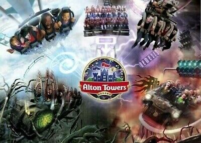 1 x Alton Towers ticket. 1st August. SUMMER HOLIDAY. GRAB A BARGAIN. 4 available