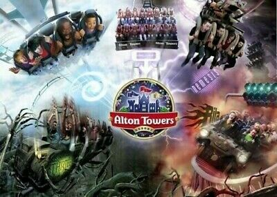 1x Alton Towers ticket. 6th August. SUMMER HOLIDAY. GRAB A BARGAIN. 4 available