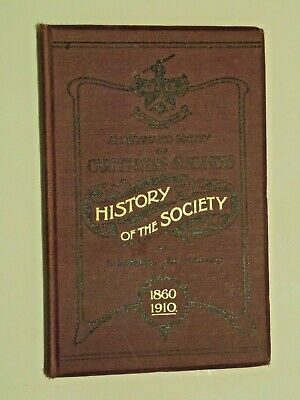~ History Of The Society of Carpenters and Joiners ~