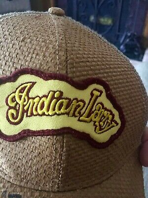 Indian Larry Hat Autographed