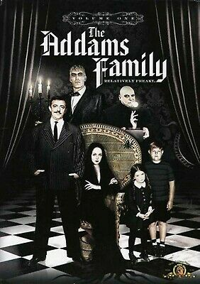 NEW 3DVD SET -  THE ADDAMS FAMILY - COMPLETE VOLUME 1 - 561 minutes - John Astin