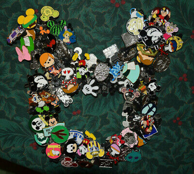 DISNEY World trading PIN LOT 50 FAST FREE SHIPPING Random MIXED Disneyland