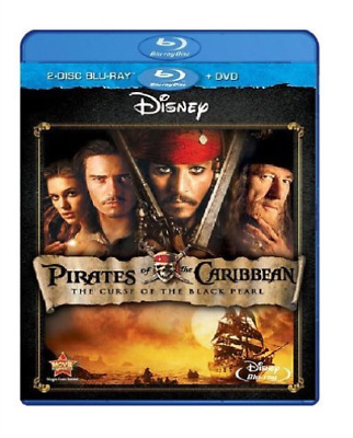 DEPP,JOHNNY-Pirates Of The Caribbean: The Curse Of The Black Pearl Blu-Ray NEUF
