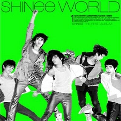 Shinee-[The Shinee World] 1st Album A Version CD+Booklet+Gift K-POP Sealed