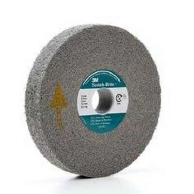 "3M 05132 Scotchbrite Exl Deburring Wheel 6""X1""X1"" 9S Fine Free Shipping"