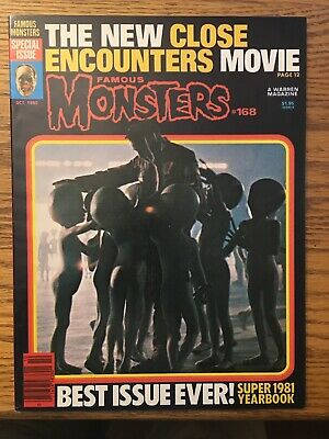 Famous MonstersIssue #168, Oct 1980, Special Issue, Super 1981 Yearbook Vf+