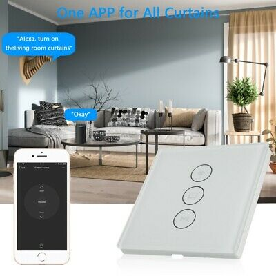 WIFI TOUCH CURTAIN Switch Controller Roller Shutter Timer